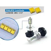 Lampu LED Mobil Philips ZES Lumileds H4 HiLo 12V32V 25W 4000 Lumens