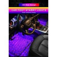 Lampu Disco Kolong Kabin Dashboard Footstep LED RGB Remote Controller