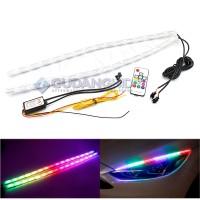 LED DRL Crystal RGB Alis Mobil 8 Warna Sein Sen Running Welcome Light