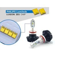 Lampu LED Mobil Philips ZES Lumileds H7 H11 HB3 HB4 25W 4000 Lumens