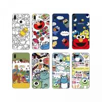 AY- Casing Soft Case TPU Motif Kartun Sesame Street untuk Huawei y9 20