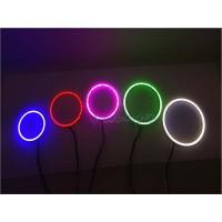COB LED Angel Eyes Shadow Ring Plasma LED Warna Warni Banyak Ukuran