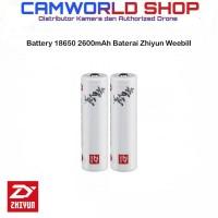 Zhiyun Li-Ion Battery 18650 2600mAh Baterai Zhiyun Weebill