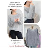 sweater import wanita knit rajut sabrina korea xl xxl xxxl xxxxl jumbo