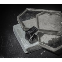 Cincin Pria - Charcoal