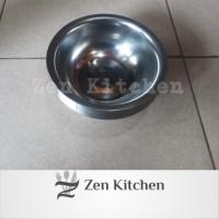 Mangkok Bowl kobokan stainless 16cm