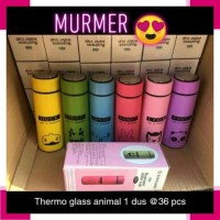 Botol Minum 1654 Thermos Glass Animal 450 Ml Botol Tempat Air Minum