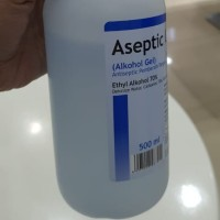 Aseptic Alkohol Gel 500 ml Anti virus anti kuman