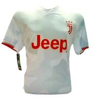 kaos jersey sevenstars tanggung juventus putih