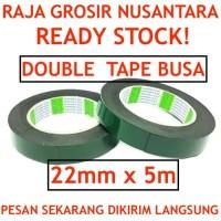 Double Tape busa 22mm x 5m nippon double tape foam lakban isolatip