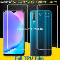 HYDROGEL VIVO Y17 Y15 Y12 ANTI GORES DEPAN BELAKANG FULL COVER