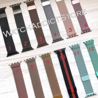 Strap Apple Watch 1 2 3 Milanese Loop Strap Iwatch IWO 42mm / 38mm