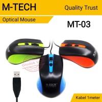 Mouse Optical USB M-Tech MT-03 Kabel