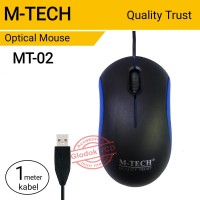 Mouse Optical USB M-Tech MT-02 Kabel