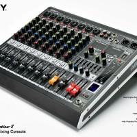 Mixer Ashley 8 Channel Selection-8 Bluetooth Usb Equalizer Original