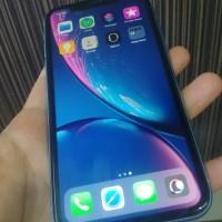 iphone xr 128gb blue garansi mei 2020 mulus terawat