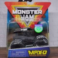 Hot Wheels monster jam Max D Hitam Spin Master hotwheels