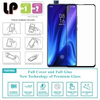 LP Full Glue Tempered Glass Xiaomi Mi 9T - RedMi K20 Pro - Kaca Ori