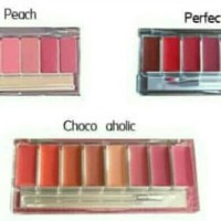 wardah Lip palette colors lipstick thumbnail