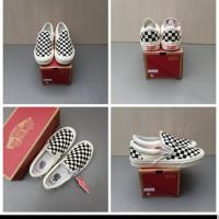 Sepatu Vans Slipon Vault Chekerboard