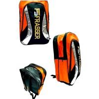 tas raket badminton ransel frasser 779 thermoguard orange
