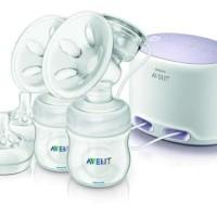 Philips Avent Twin Electric Breast Pump FREE Sterilizer 3 in 1