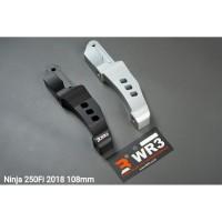 Breket Kaliper Depan WR3 Kawasaki New Ninja 250Fi 2018 Monoblock 108mm