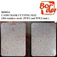 BORDER TOOLS BD0014 CAMO MASK CUTTING MAT