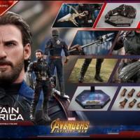 Hot toys Captain America Infinity War Movie Promo Edition