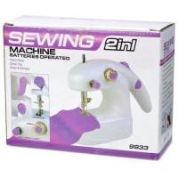 Mesin Jahit Mini Portable Elektrik sewing 2 in1
