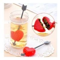 Tea Love Heart Strainer/Penyaring Saringan Penyeduh Teh Hati Love