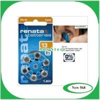 Baterai Batre Renata ZA13/13/A13 Original Hearing Aid Battery