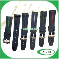 Tali Jam Tangan Rolex Rubber B 20 mm Premium Buckle Stainless