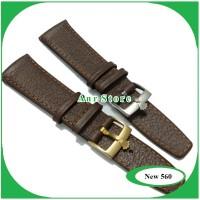 Tali Jam Tangan Kulit Rolex Oyster flex for Rolex 20mm Drak brown
