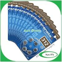 Baterai Alat Bantu Dengar Renata ZA312 PR41 AG3 Hearing Aid Original