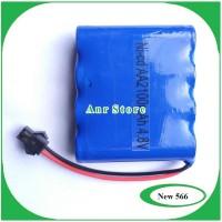 Battery Baterai RC Soket Ni-cd AA 2100mAh 4.8V Mobil Remot