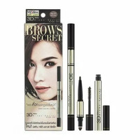 Brow Secret 3D Mistine Brows Eyeliner Mascara