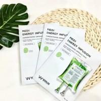 Wonjin Effect Sheet Mask Medi Energy Infusion Korean Masker Original