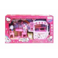 Mainan Anak Perempuan Hello Kitty Food Cart - Gerobak Makanan DN807-KT
