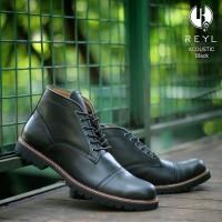 KULIT ASLI martens redwing safety sepatu boots pria VV-X143