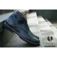 KULIT ASLI martens redwing safety sepatu boots pria VV-X144