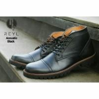 KULIT ASLI martens redwing safety sepatu boots pria VV-X145