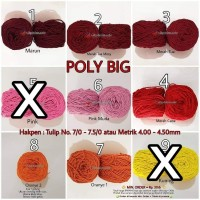 Poly Big (Benang Rajut Polyester)