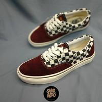 Sneakers Vans Era Hot Road Maroon Marshmallow