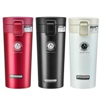 Termos Kopi / Travel Mug Tahan Air Panas & Dingin Vacuum Coffe Cup