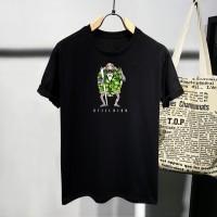 T-shirt Jin Kura High / Baju Kaos Distro Pria Wanita Cotton 30s