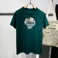 T-shirt Skull Enjoy / Baju Kaos Distro Pria Wanita Cotton 30s