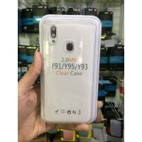 VIVO Y91/Y95/Y93 (Fingerprint) - Clear Case 2.0MM