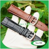Tali Jam Tangan Kulit Genuine Leather 22 mm 24 mm