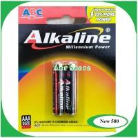 BATERAI ABC ALKALINE AAA 1.5V ISI 2PCS ORIGINAL BATTERY ALKALINE